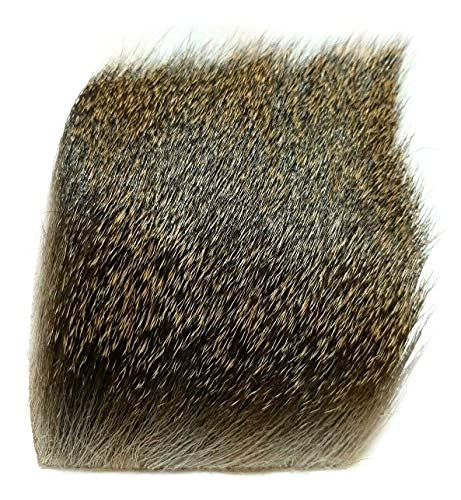 Premium Deer Hair Dyed Fly Tying Materials (Natural)