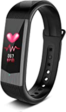 Heart Rate Monitor - Fitness Tracker HR for Women, Activity Tracker Watch w/ Sleep Monitor, Smart Fitness Band w/ Step Counter, Calorie Counter, Waterproof Pedometer Watch for Men Kids