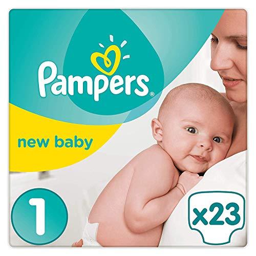 Pampers Premium Protection New Baby Größe 1 (Neugeborene), 22 Windeln