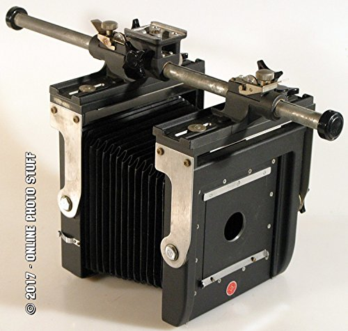 Fantastic Deal! LENS BOARD AND CASE FOR CALUMET 4X5 VIEW CAMERA