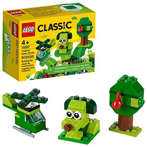 Lego Classic Peças Verdes Criativas 11007