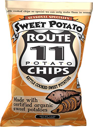 Route 11 Chips, Sweet Potato Chips (30 bags (1.5 oz each)) made with organic sweet potatoes