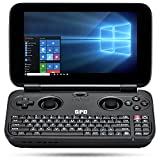 GPD WIN 黒 + 液晶保護フィルム付属 (Windows10 /5.5inch /IPS液晶 /Intel Atom X7 Z8750) (4GB/64GB)(USB Type-C /USB3.0 /HDMI /Bluetooth4.1) (タッチパネル /Gorilla Glass 3 /Gamepad Tablet PC /UMPC /8750) (ブラック) 正規輸入品