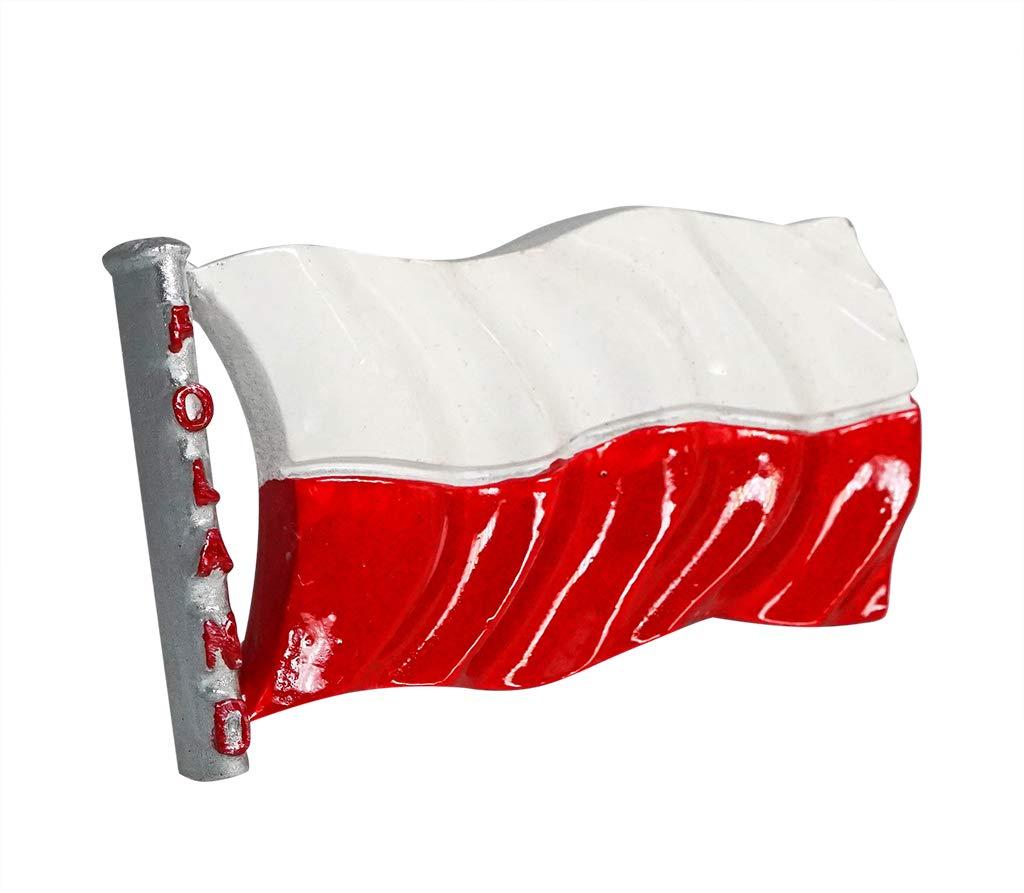 zamonji Bandera de Polonia 3D Imán de Nevera Recuerdos Turísticos Hecho A Mano de Resina Artesanía Pegatinas Magnéticas Inicio Cocina Decoración: Amazon.es: Hogar