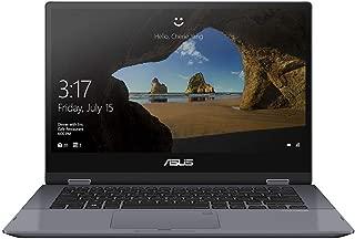 Asus VivoBook Flip 14 TP412FA-EC117T  Convertible Notebook (Slate Gray) - Intel i3-8145U 3.9 GHz, 4 GB RAM, 128 GB SSD, Integrated Intel UHD Graphics 620, 14 inches LED, Windows 10S, Eng-Arb-KB