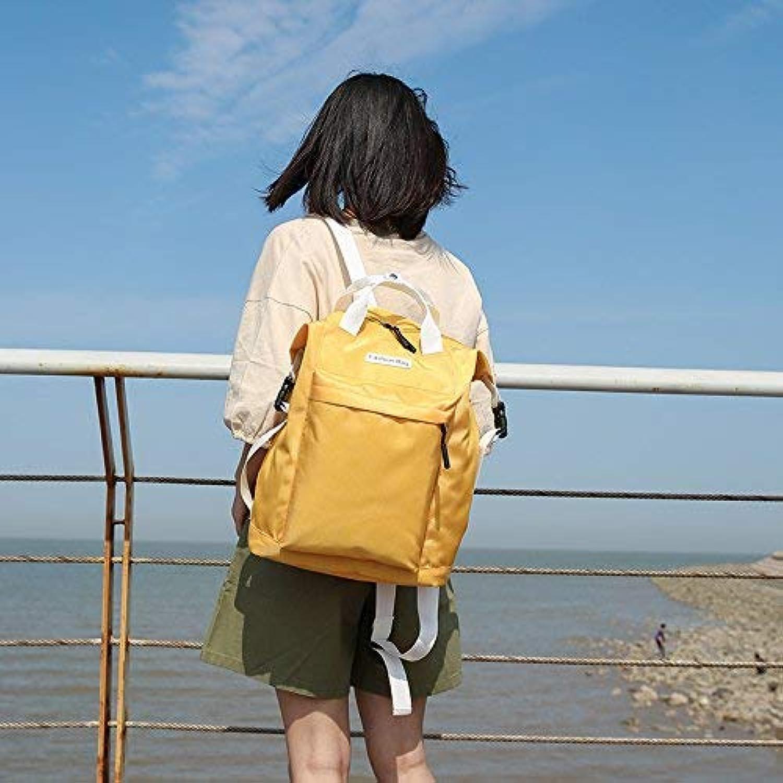 YHUJH Home Reisetasche Casual Canvas Rucksack Hübscher Hübscher Hübscher Rucksack Fashion Student Schoolbag B07L83K5PW  Angenehmes Gefühl 72d900