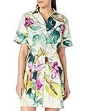 Desigual Vest_Kodiak Vestido Casual, Verde, M para Mujer