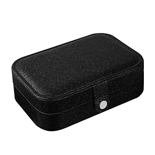 homchen Reise-Schmuck-Organizer Tasche, Schmuckaufbewahrung für Armbänder, Ohrringe, Ringe, Halskette Box