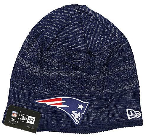 New Era New England Patriots Beanie NFL 2020 on Field Tech Knit Navy/Grey - One-Size