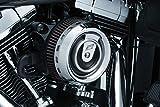 Kuryakyn 9240 Motorcycle Air Cleaner/Filter Component: Crusher Crusader Air...