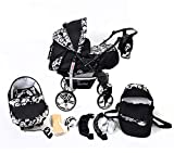 Sportive X2, 3-in-1 Travel System incl. Baby Pram with Swive
