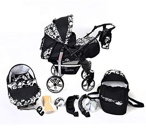 You and Baby SPORTIV-X2 Kombi-Kinderwagen 3in1 | mit Zubehör | für Kinder ab der Geburt bis 3 Jahre | Gewicht 13 kg | Faltmaß mit Rädern B99 x T60 x H58