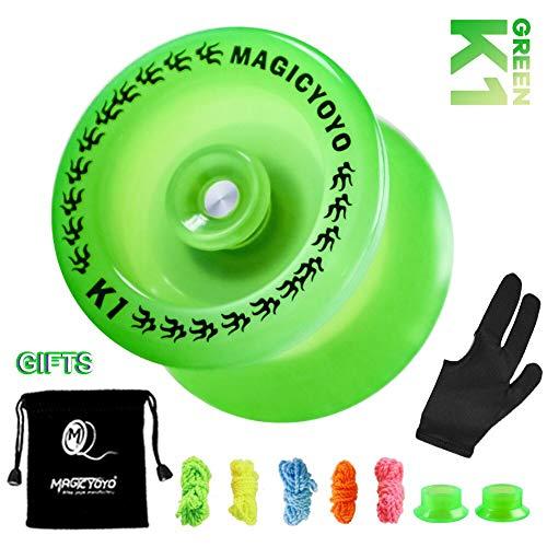 top 10 yoyos to in MAGICYOYO Responsive Yo-Yo K1-Plus A durable plastic yo-yo that glows in the dark, for beginners and kids …