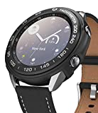 Ringke Air Sports + Bezel Styling Combo Compatibile con Cover Samsung Galaxy Watch 3 41mm, Custodia Antiurto TPU e Ghiera Anti Graffio - 10-Black Nero