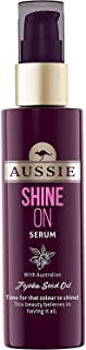 Aussie Shine On Serum 75ml with Australian Jojoba Seed Oil for smooth and brigther hair