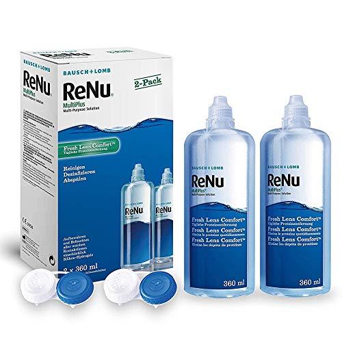 ReNu MultiPlus Pflegemittel für weiche Kontaktlinsen, Twin Box (2 x 360 ml) - 4