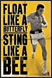 Close Up Muhammad Ali - Float Like A Butterfly, Sting Like