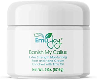 Banish My Callus Foot Callus Cream Hand Callus Remover – For Softening Rough Hard Dry Skin on Feet Hands Knees Elbows