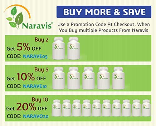 Naravis Olive Leaf Extract - 750mg - 120 Veggie Capsules - 20% Oleuropein - Non-GMO - Immune Support - Cardiovascular Health - Antioxidant Supplement