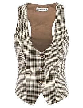 Best womens plaid vest Reviews