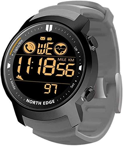 JSL Deportes Smart Watch Multifuncional al aire libre Bluetooth reloj de pulsera 50 M impermeable calorías cronómetro SMS llamada recordatorio hombres s relojes digitales