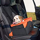 Legendog Dog Car Seat, Waterproof Breathable Pet Dog Cat Car Booster Seat Deluxe Portable Travel Car Carrier...