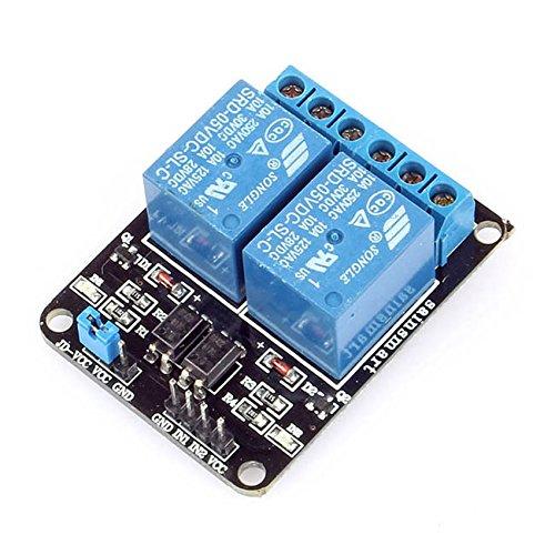 SainSmart 2-CH 5V 2 Kanäle Relais Modul-Brett für Arduino PIC AVR DSP MCU Relais Modul