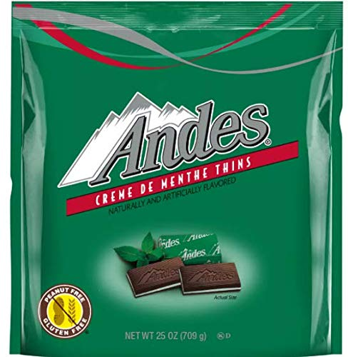 Andes Mints Classic Crème de Menthe Chocolate Candy 25oz bag