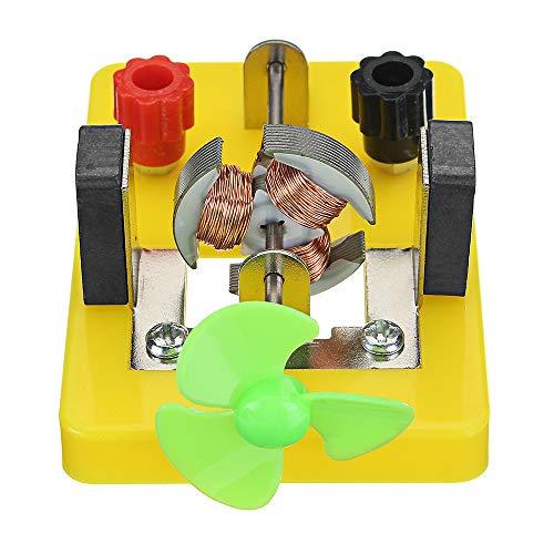 VIDOO DIY Elektromagnetis Experiment Modell Dc Elektrische Schaltung Gleichstrom Motor Modell Wissenschaft Spielzeug