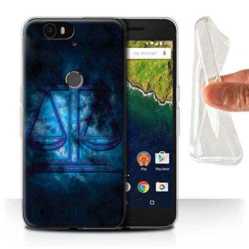 Var voor Google Nexus/Pixel Zodiac Star Sign Huawei Nexus 6P Weegschaal/Weegschaal