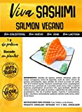 Viva Planta Sashimi Salmon VEGANO 300g | Sin Gluten | Vegan | Sin carne | 100% Vegetal | Plant Based | Sin Gluten