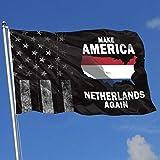 AOTADer Abgenutzte Flaggen im Freien USA Flagge Machen Amerika Niederlande Wieder Flagge für Sportfan Fußball Basketball Baseball Hockey