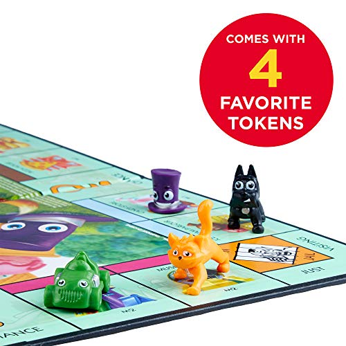 51ZL8qzIknL - Hasbro Monopoly Junior Board Game, Ages 5 and up (Amazon Exclusive)