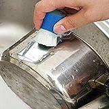 Sujing Reinigungsbürste aus Edelstahl, zum Entfernen von Rost und Polieren des Metalls.