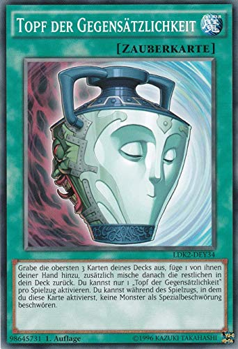 LDK2-DEY34 - Topf der Gegensätzlichkeit - Yu-Gi-Oh! - Legendary Decks 2 - Deutsch - mit GECO® Versandschutz