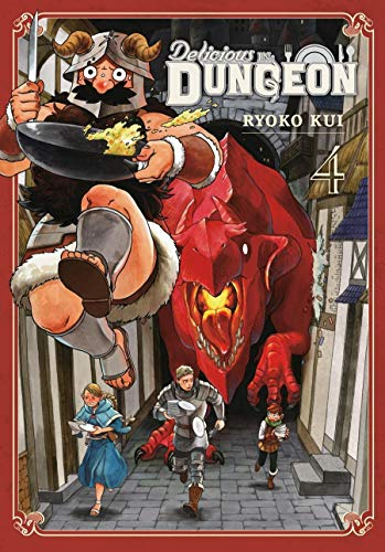 Delicious in Dungeon Vol. 4 (English Edition)