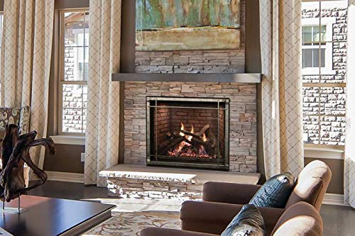 Buy Empire Comfort Systems Rushmore 36 DV IP LP Fireplace w/Driftwood Logs and Brick Liner
