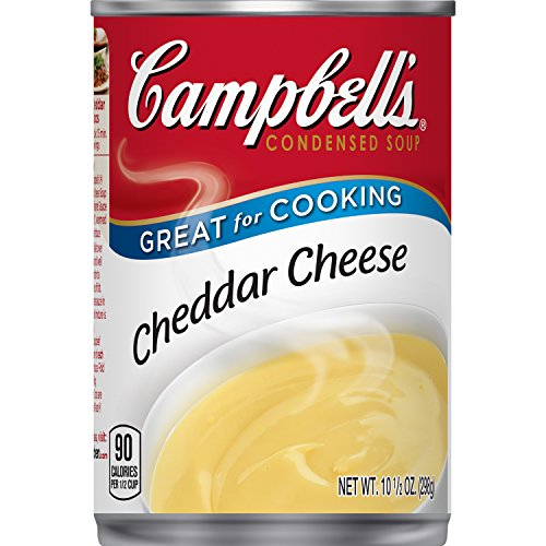 Campbell's Condensed Cheddar Cheese Soup, 10.5 oz. Can