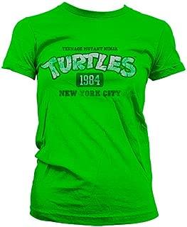 Officially Licensed Merchandise TMNT - New York City 1984 Girly T-Shirt