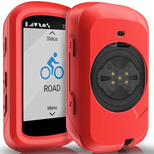 TUSITA Hülle Kompatibel mit Garmin Edge 530 - Silikon Schutzhülle Skin - GPS Bike Computer Zubehör