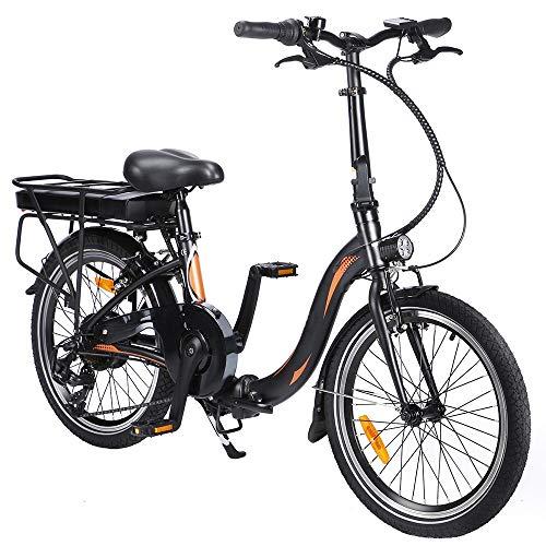 Vélo Électrique Pliable de 20 Pouces avec Pédales, Vélo Électrique 250 W 36V 10AH/7,5 Ah,...