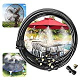 Fulltime E-Gadget Gartenschlauch Trampolin Sprinkler, Misting Fan System Outdoor Misting System Für Kinder 33Ft Gartenschlauch