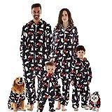 Family matching Christmas pajamas set, Hooded...