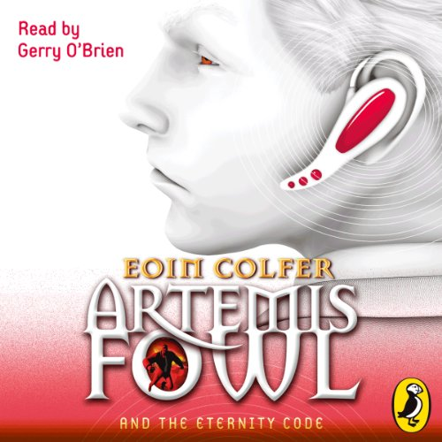 Artemis Fowl and the Eternity Code audiobook cover art