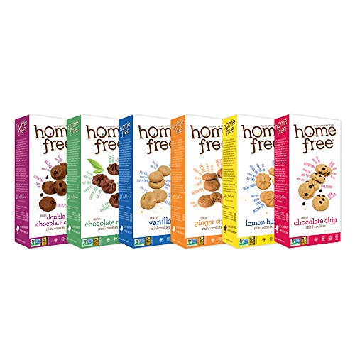 Homefree Treats You Can Trust Gluten Free Mini's, Variety Pack, 6 Count