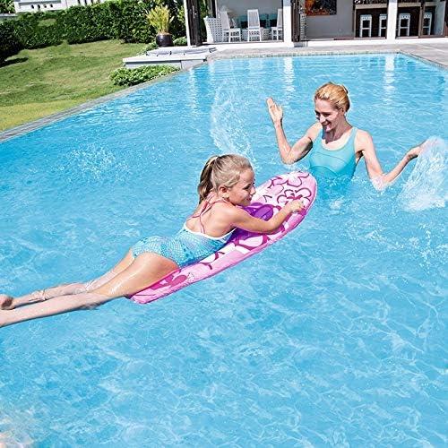 Sicherheit Erwachsene Kinder Surfen Schwimmpaddel Schwimmhilfen Bodyboards f/ür Kinder Tragbare aufblasbare Surfbretter Backyard Float Spielzeit Pool Lake Beach Schwimmringe Aufblasbares Surfbrett