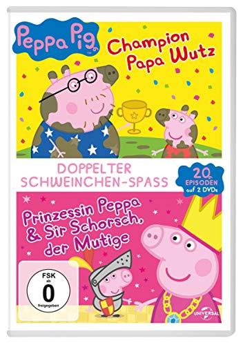 Peppa Pig - Doppelter Schweinchen-Spaß [2 DVDs]