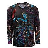 PSPORT Cycling Sweatshirt Men MTB T-Shirt Long Sleeve Bike Motorcycle Shirts Bike Jersey Tops UV Protection