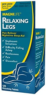 MagniLife Relaxing Leg Calming Tablets: Relief from Pain, Restlessness, Discomfort, Shooting, Jittery Sensations and Sleep Aid (125 Count Tablets)