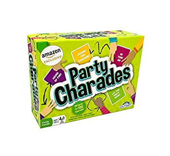 Party Charades Game  Amazon Exclusive  – Contains 550 charades – Great Family Game for 2 or More Players Ages 10 and up by Outset Media
